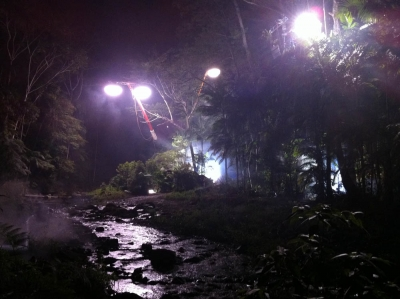 Filmlighting lights up Terra Nova